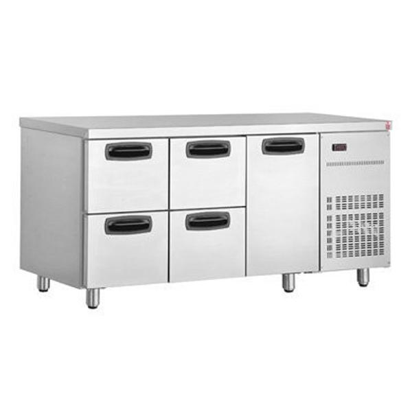 Inomak UBD6000 Under Bar Fridge with Six Drawers