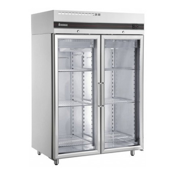 Inomak UFI1140G Double Glass Door Storage Fridge
