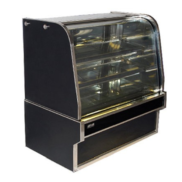 Koldtech KT.RCD.12 Curved Glass Refrigerated Cake Display 1200mm