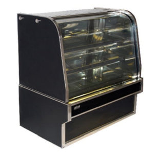 Koldtech KT.RDC.9 Curved Glass Refrigerated Cake Display 900mm