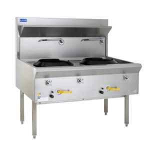 LUUS 'WF-2C' Water Cooled Wok