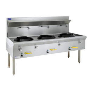 LUUS WF-3C Water Cooled Wok