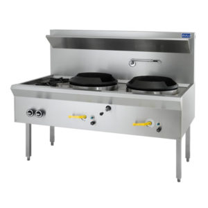 LUUS 'WL-2C2B' Waterless Wok