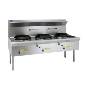 LUUS 'WL-3C' Waterless Wok