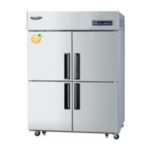 Lassele LRF-1382PC Four X 1/2 Solid Door Upright Combination Fridge/Freezer – 1014 Litre