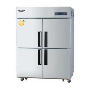 Lassele LRF-1382PC Four X 1/2 Solid Door Upright Combination Fridge/Freezer – 1014 Litre