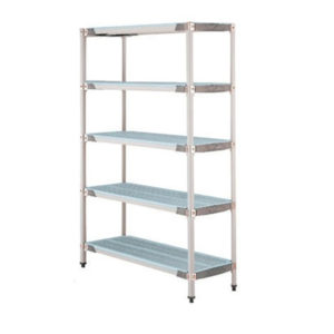 MetroMax Q 3 Tier Shelving – 455mm Depth