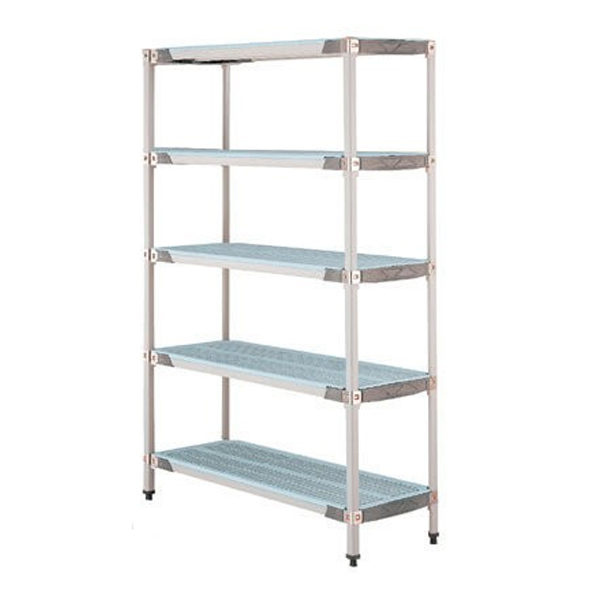 MetroMax Q 4 Tier Shelving - 610mm Depth