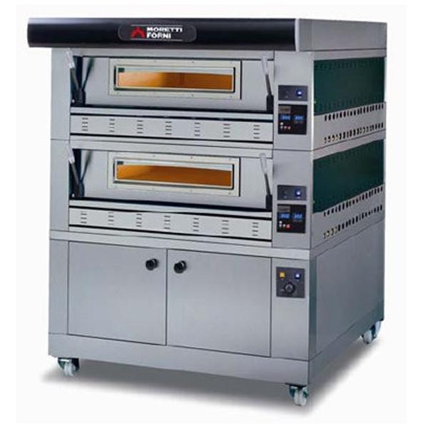 Moretti P110G SeriesP Gas Deck Pizza Oven & Prover