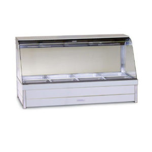 Roband C24/RD Curved Glass Hot Food Bar – 1355mm
