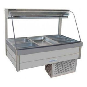 Roband CRX23RD Curved Glass Cold Food Bar