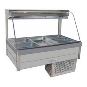Roband Curved Glass Cold Food Bar CRX24RD