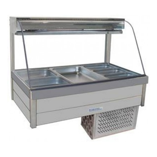 Roband CRX24RD Curved Glass Cold Food Bar