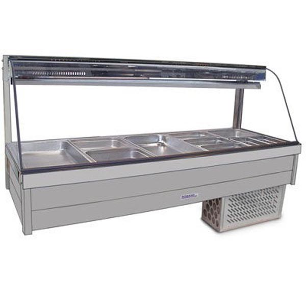 Roband Curved Glass Cold Food Bar CRX25RD