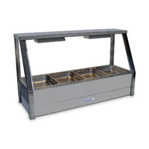 Roband E14/RD Single Row Hot Food Display – 1135mm
