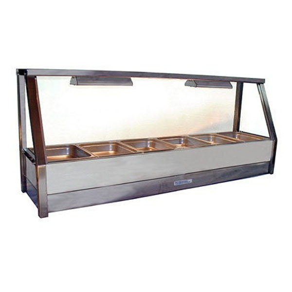 Roband E16 Rd Single Row Hot Food Display 1665mm