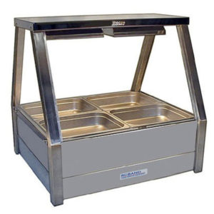 Roband E22/RD Double Row Hot Food Display – 705mm