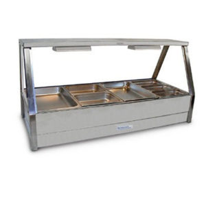 Roband E24/RD Double Row Hot Food Display – 1355mm