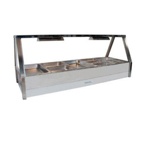 Roband E25/RD Double Row Hot Food Display – 1680mm