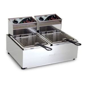 Roband F25 Counter Fryer – 2 X 5lt Pans