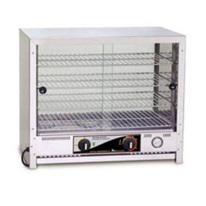 Roband PA100 Square Top Pie & Food Warmer – 100 Pie