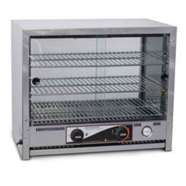 Roband Pa40l 40 Capacity Square Top Pie And Food Warmers