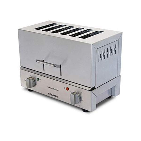 Roband Tc66 Vertical Toaster 6 Slice
