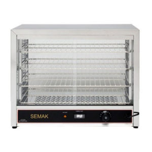 Semak PW50 Pie Warmer – Glass Doors