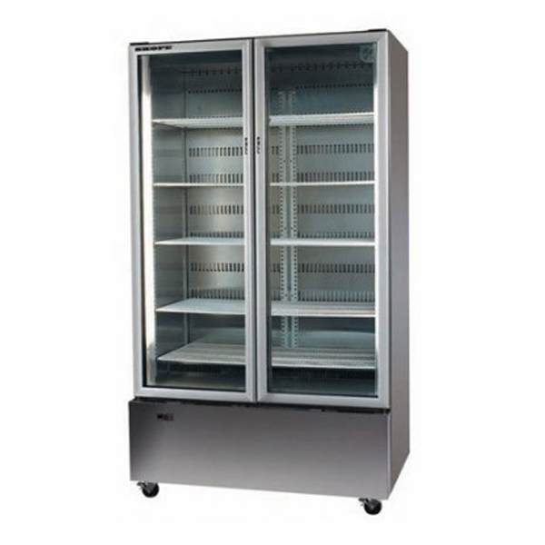 Skope B900 2 Glass Door Chiller - 892 Litre