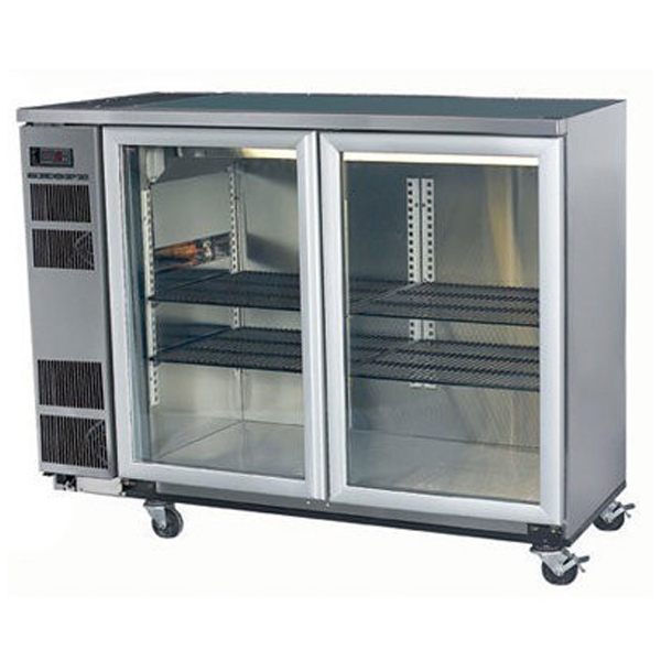 Skope BB380 2SW BackBar Series Two Swing Doors Bench Fridge – 1500mm