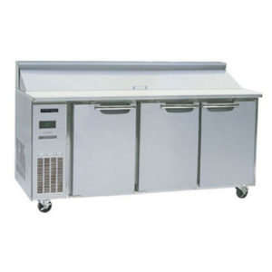 Skope BC180-S-3RRRS-E Centaur Series Three Door Sandwich Prep Fridge – 1800mm