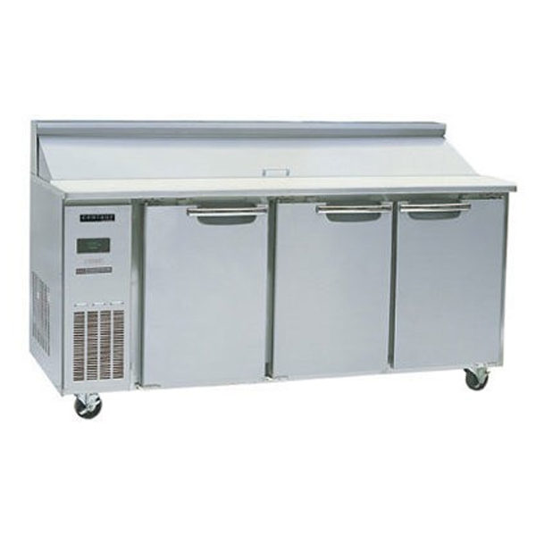 Skope BC180-S-3RRRS-E Centaur Series Three Door Sandwich Prep Fridge - 1800mm