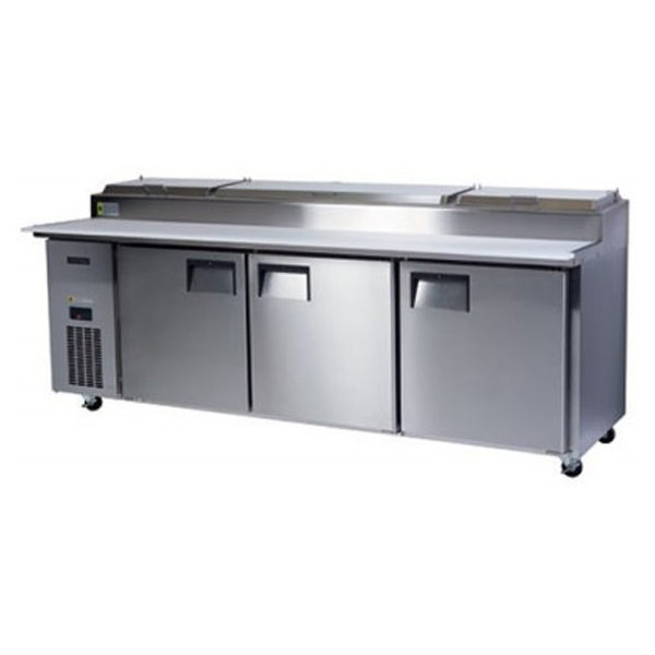 Skope BC240-P-3RRRS-E Centaur SeriesThree Door Pizza Counter Chiller - 2370mm