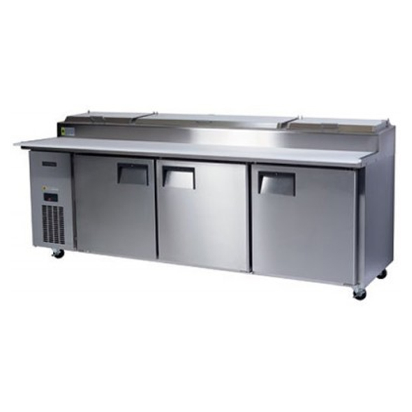 Skope BC240-P-3RRRS-E Centaur SeriesThree Door Pizza Counter Chiller – 2370mm