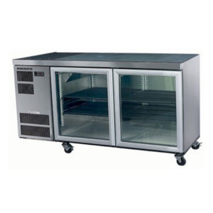 Skope CC300 Slimline Series Two Door Bench Fridge – 1600mm
