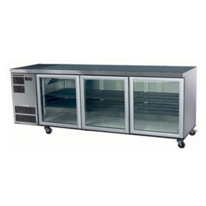 Skope CC500 Slimline Series Three Door Bench Fridge – 2210mm