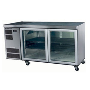 Skope CL400 Counterline Series Two Door Bench Fridge – 1600mm