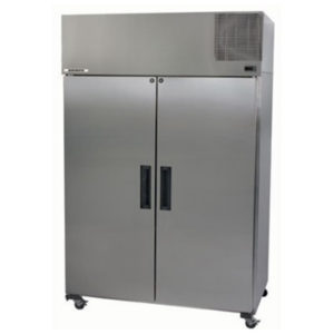 Skope PG1300VF Pegasus Vertical 2/1 Series Two Door Storage Freezer – 1298 Litre