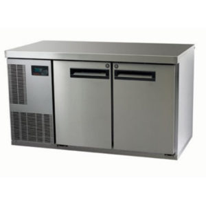 Skope PG250HC-2 Pegasus Horizontal 1/1 Series Two Door Bench Fridge – 1331mm