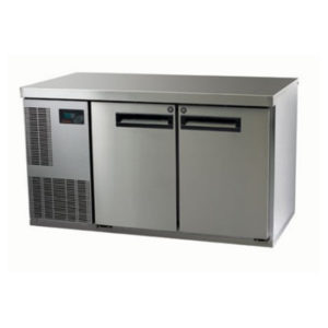 Skope PG250HF-2 Pegasus Horizontal 1/1 Series Two Door Bench Freezer – 1331mm