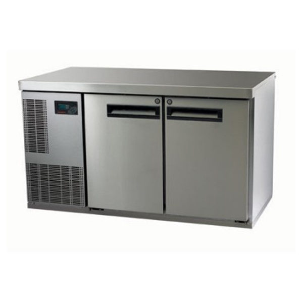 Skope PG250HF-2 Pegasus Horizontal 1/1 Series Two Door Bench Freezer - 1331mm