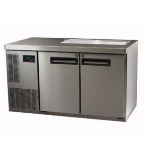 Skope PG250PREP-2 Pegasus Horizontal 1/1 Series Two Doors Prep Fridge – 1331mm