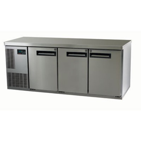 Skope PG400HF-2 Pegasus Horizontal 1/1 Series Three Doors Bench Freezer - 1799mm