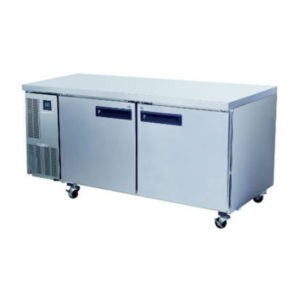 Skope PG500HF Pegasus Horizontal 2/1 Series Two Doors Bench Freezer – 1750mm