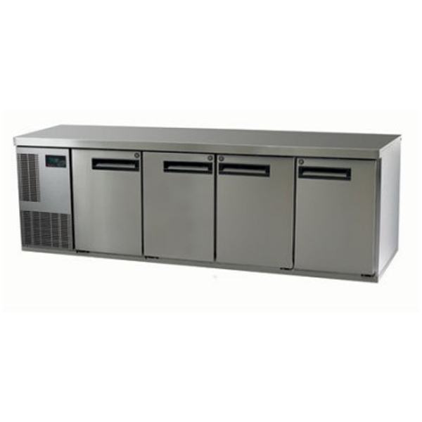 Skope PG550HC-2 Pegasus Horizontal 1/1 Series Four Doors Bench Fridge - 2267mm