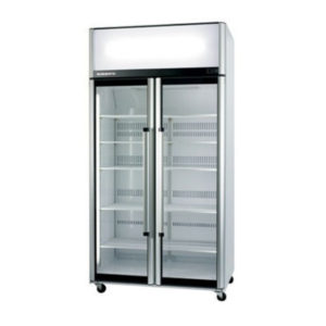 Skope SK1000-3 Two Glass Door Upright Chiller – 980 Litre