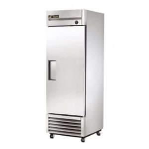 True Food International T-23-HC Reach-In Single Solid Swing Door Storage Fridge – 651 Litre (Showroom Model)