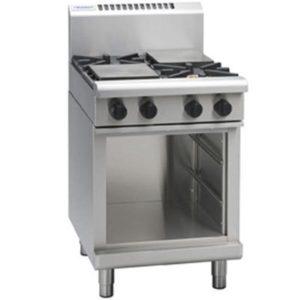 Waldorf 600mm 4 Burner Gas Cooktop – Cabinet Base