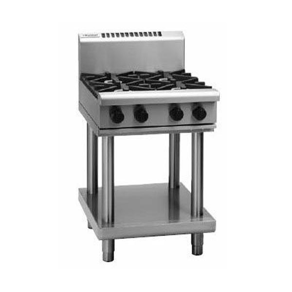 Waldorf 600mm 4 Burner Gas Cooktop - Leg Stand