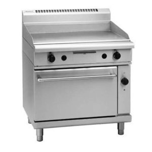 Waldorf 900mm Gas Griddle – Electric Convection Oven Range GP8910GEC